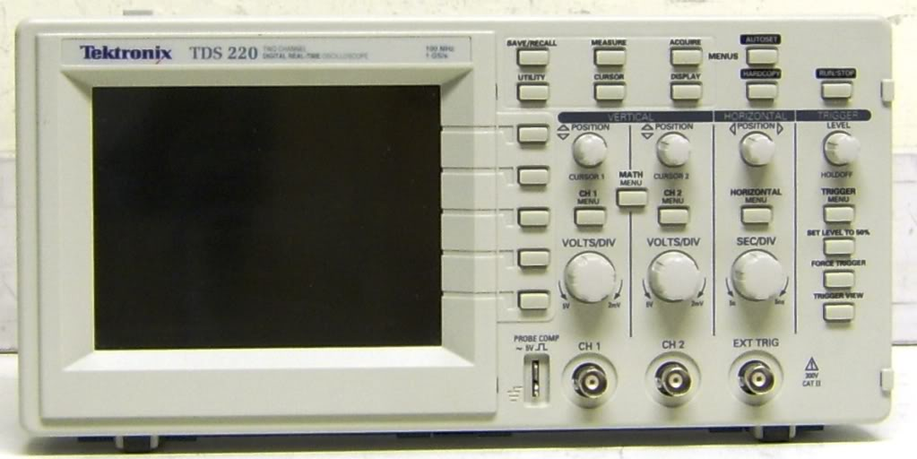 Tektronix Tds220 Oscilloscope