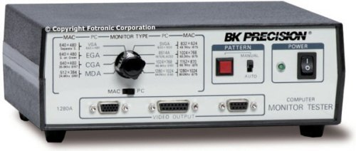 Bk Precision 1280A Benchtop Computer Monitor, Pc And Mac, Video Generator