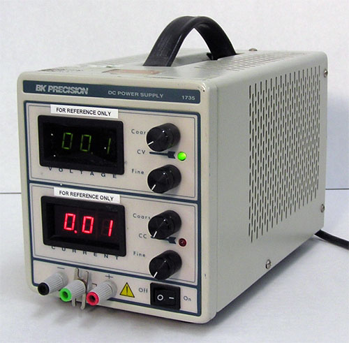 Bk Precision 1735 30V, 3A, 90W Single Output Dc Power Supply