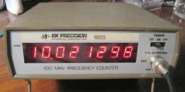 Bk Precision 1803C 100 Mhz Battery/Ac Powered Counter