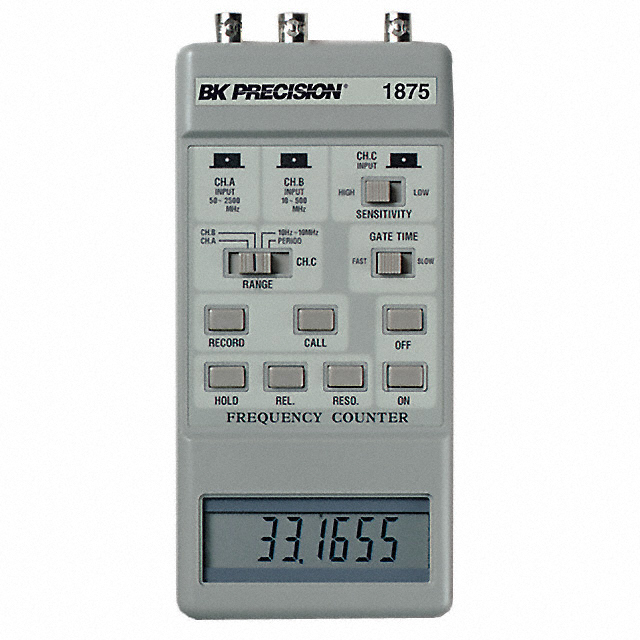 Bk Precision 1875 10 Hz - 2500 Mhz, Frequency Counters