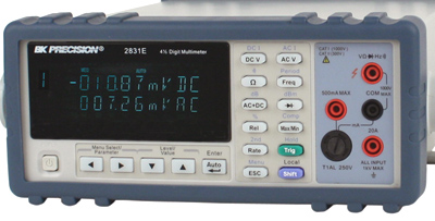 Bkprecision 2831E 4 1/2 Digit True Rms Bench Multimeter