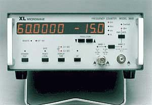 Xl Microwave 3030 10Hz - 3Ghz, Frequency Counter