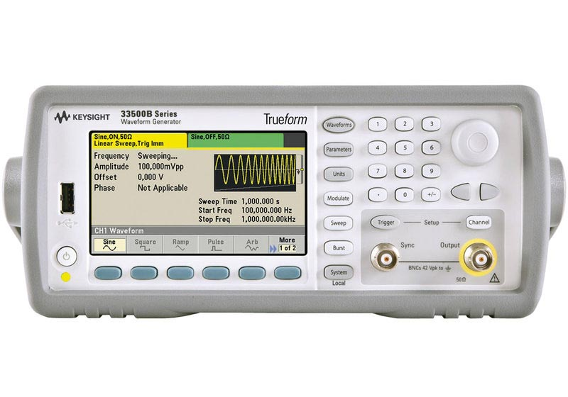 Keysight 33512B Waveform Generator