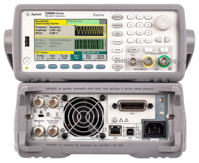 Keysight 33612A Waveform Generator