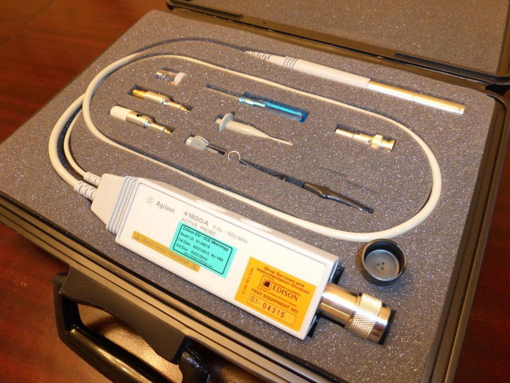 Keysight 41800A Active Probe, 5 Hz To 500 Mhz