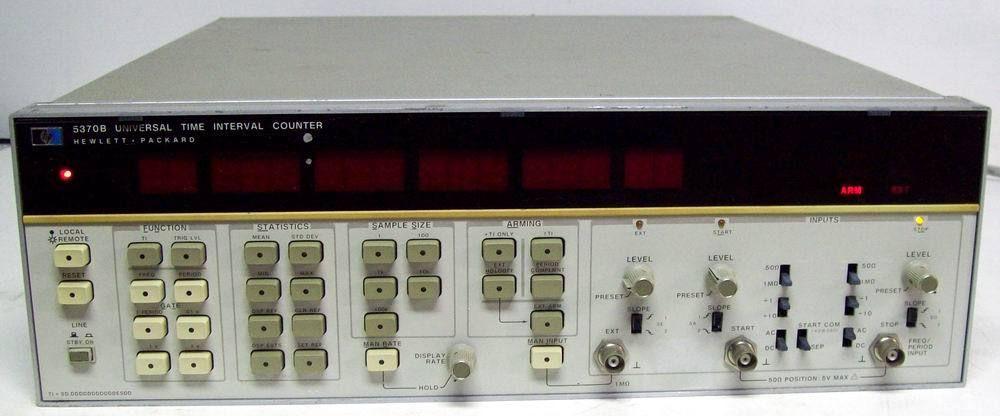 Agilent 5370B Precision Time-Interval Universal Counter