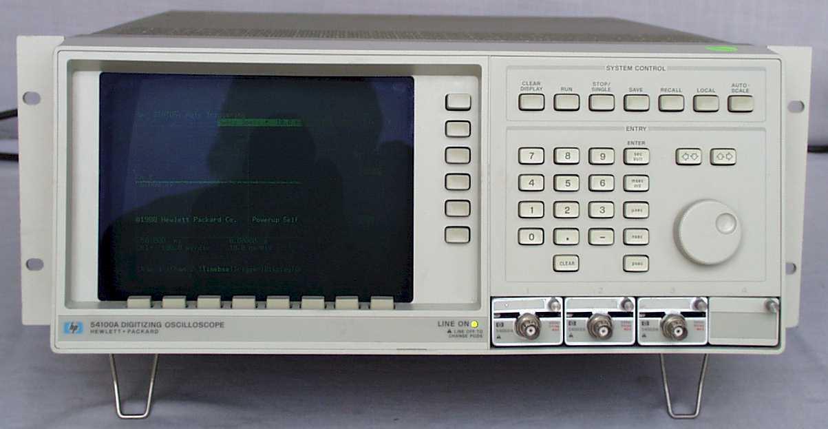 Agilent 54100A 1Ghz, 40Ms/S, 2 Ch, Digitizing Oscilloscope