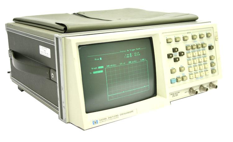 Agilent 54200A 200 Msa/S Digitizing Oscilloscope, 50Mhz