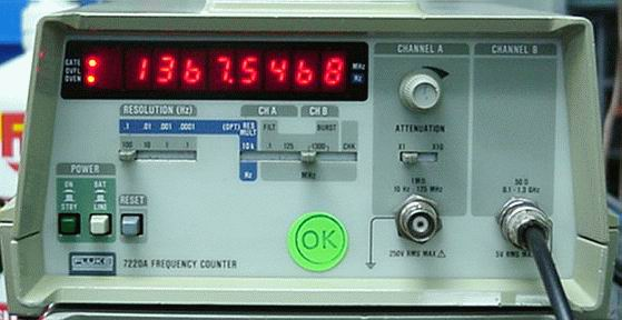 Fluke 7220A 1300 Mhz Frequency Counter