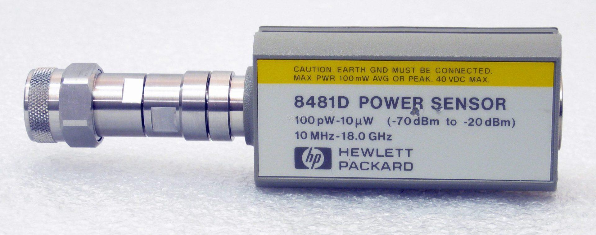 Keysight 8481D Diode Power Sensor