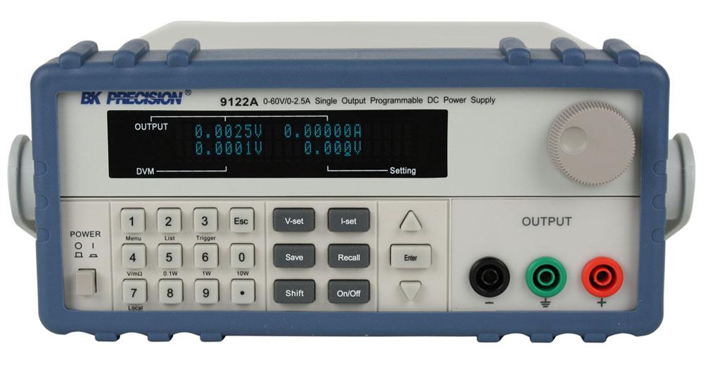 Bk Precision 9122A 60V/2.5A Single Output Programmable Dc Power Supp