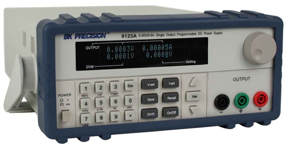 Bk Precision 9123A 0-30V/0-5A Single Output Programmable Dc Power Supply