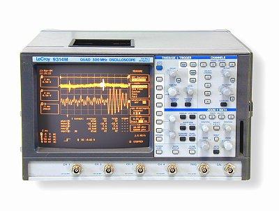 Teledyne Lecroy 9314Cm 4 Ch Digital Oscilloscope 400Mhz Bandwidth 100Ms/S