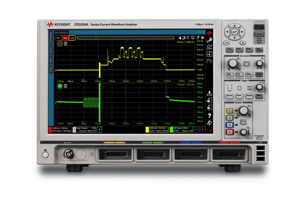 Keysight Cx3322A Device Current Waveform Analyzer
