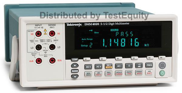 Tektronix Dmm4020 Digital Multimeters