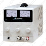 Digital Electronics Drp-303A Variable Single Output Regulated Dc Power Supply Analog Disp