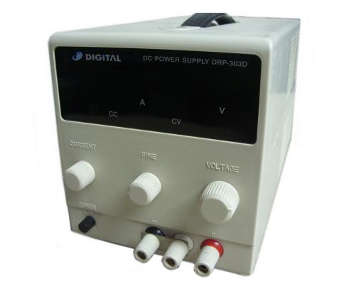 Digital Electronics Drp-303D 0~30V/0~3A Variable, Single Output, Regulated Dc Power Suppl