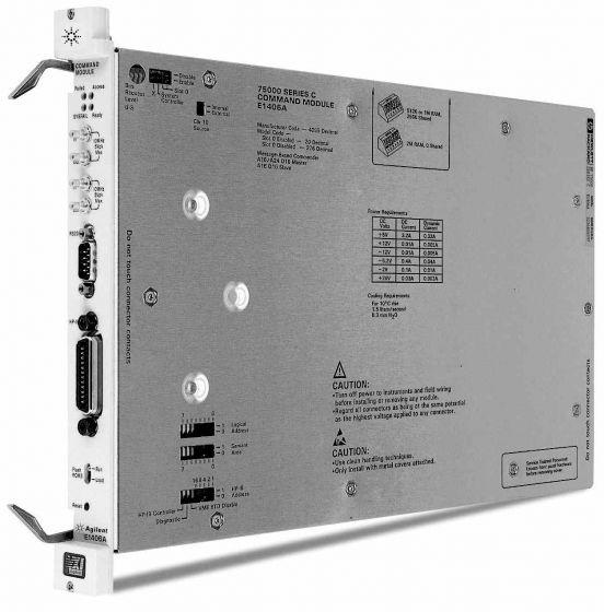 Keysight E1406A Vxi Gpib Command Module, C-Size