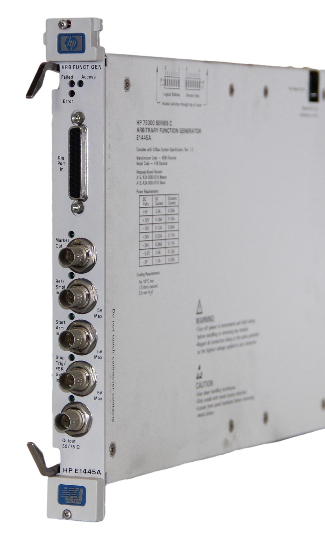 Keysight E1445A Arbitrary Function Generator