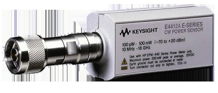 Keysight E4412A Wide Dynamic Range Power Sensor