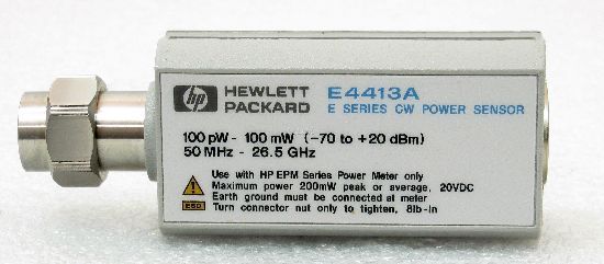 Keysight E4413A Wide Dynamic Range Power Sensor
