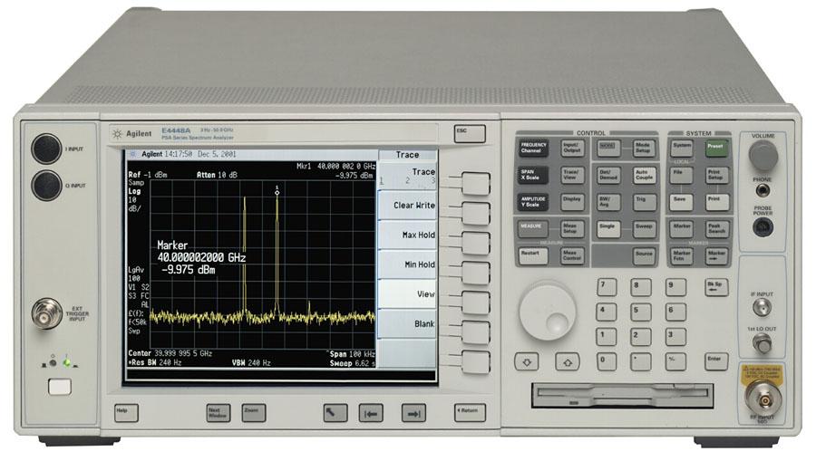 Agilent E4446A Spectrum Analyzer, 3 Hz To 44 Ghz