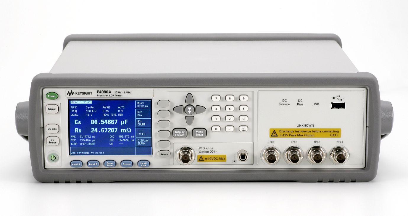 Keysight E4980A-001 Power And Dc Bias Enhance