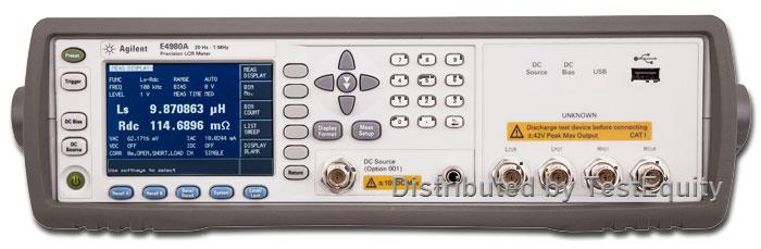 Keysight E4980Al-301 Scanner Interface