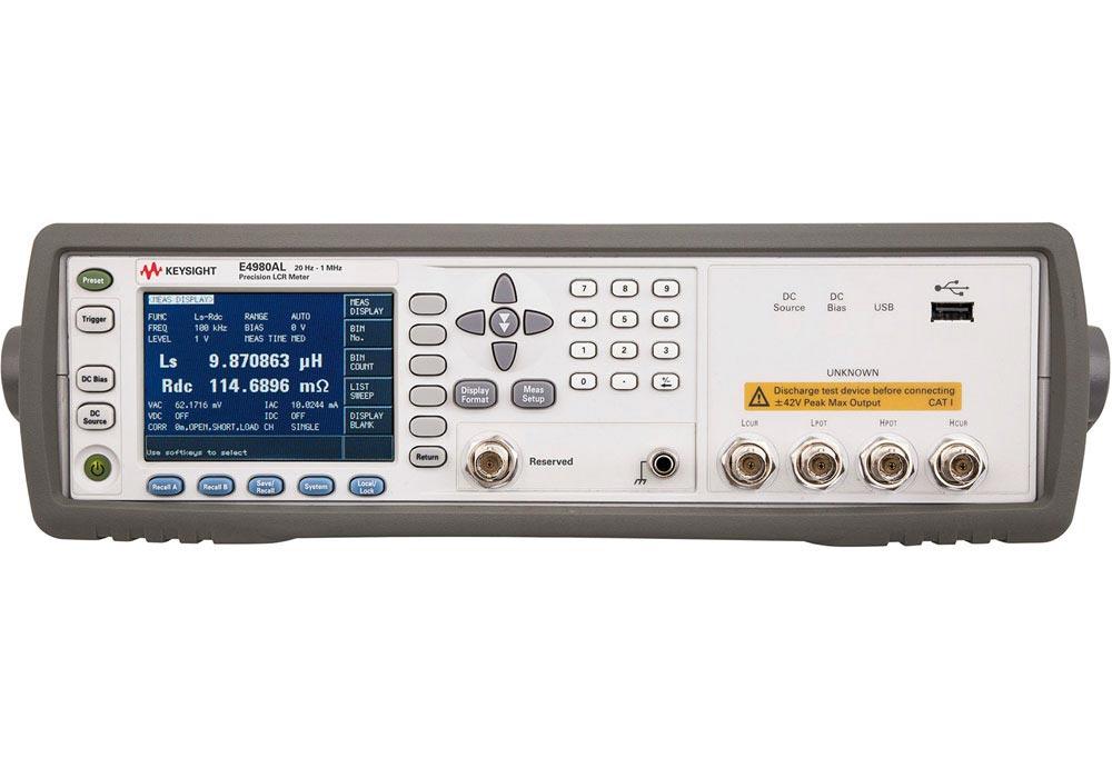 Keysight E4980Al Precision Lcr Meter