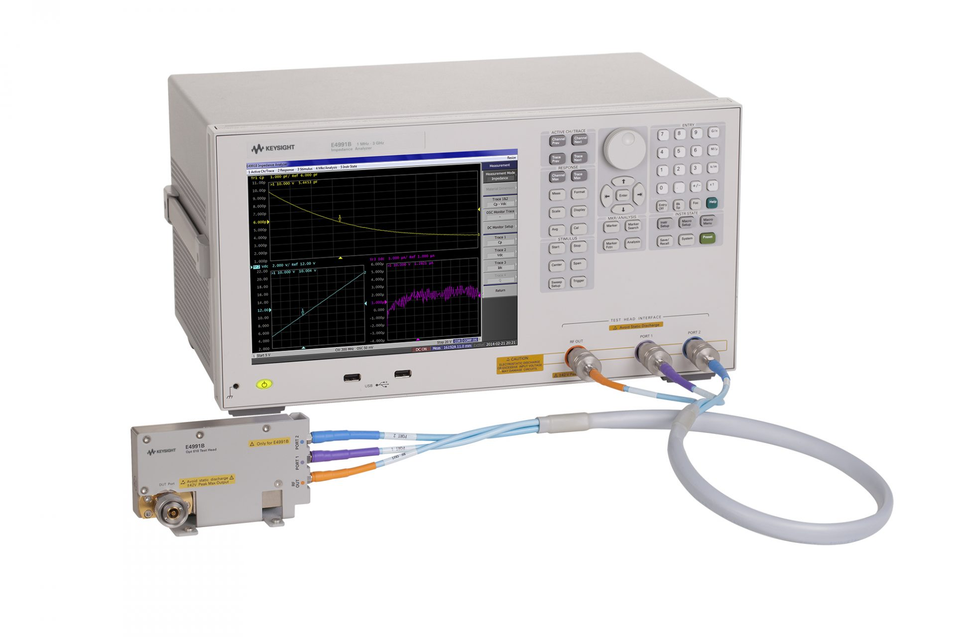 Keysight E4991B Impedance Analyzer