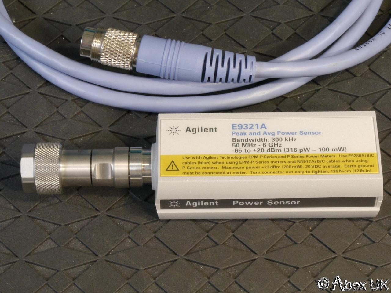 Keysight E9321A Peak And Average Power Sensor