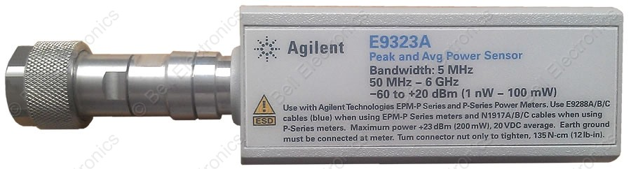 Keysight E9323A Peak And Average Power Sensor
