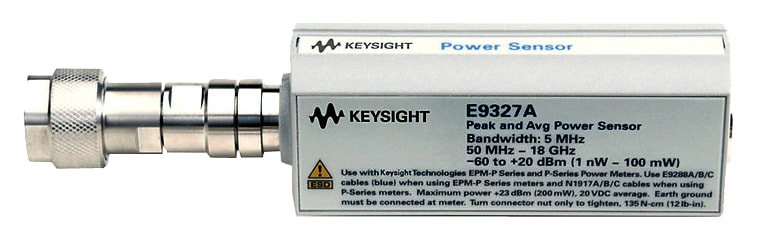 Keysight E9327A Peak And Average Power Sensor