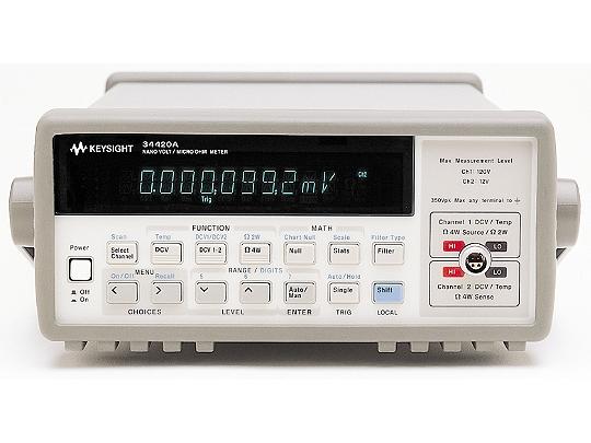 Keysight Eu34420A Micro-Ohm Meter, 7