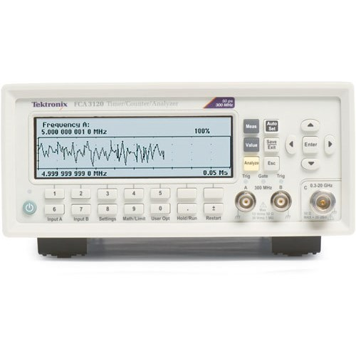 Tektronix Fca3120 Frequency Counter