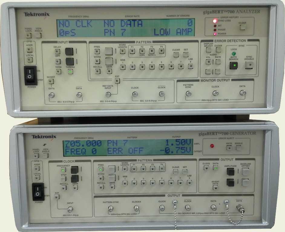 Tektronix Gb700 700Mb/S Pattern Generate And Analyzer