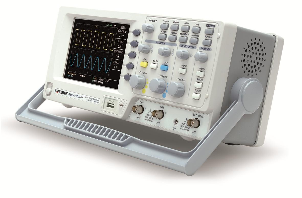 Gw Instek Gds-1052U 50Mhz, 250Ms/S With Usb,Sd Card Slot