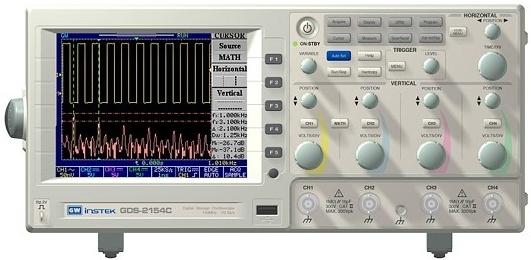 Gw Instek Gds-2062 Dc-40Mhz, 2 Ch, Digital Storage Oscilloscope