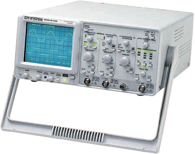 Gw Instek Gos-6103C 100 Mhz, Cursor Readout Analog Oscilloscope With Frequency C
