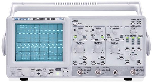 Gw Instek Gos-6112 100 Mhz, Analog Oscilloscope