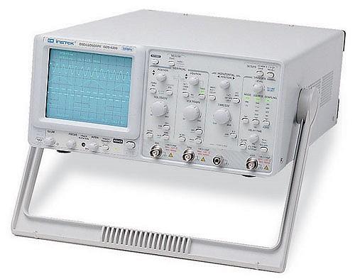 Gw Instek Gos-6200 200 Mhz, Cursor Readout Analog Oscilloscope