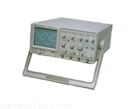 Gw Instek Gos-622B 20Mhz 2Ch Oscilloscope Analog
