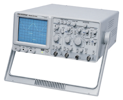 Gw Instek Gos-653G 50 Mhz Oscilloscope With Delayed Sweep