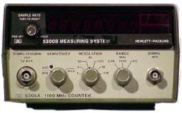 Agilent 5223L Frequency Counter To 300 Khz With Period Average And Ratio