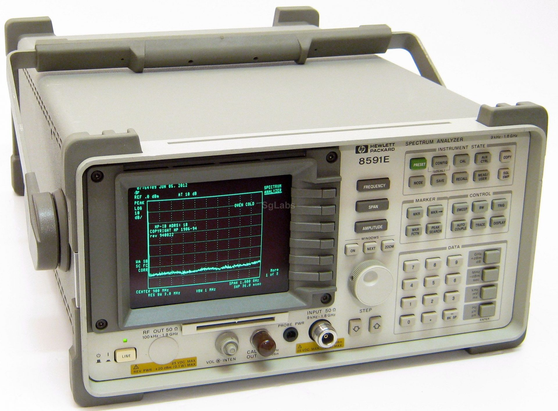 Agilent 8596E Portable Spectrum Analyzer