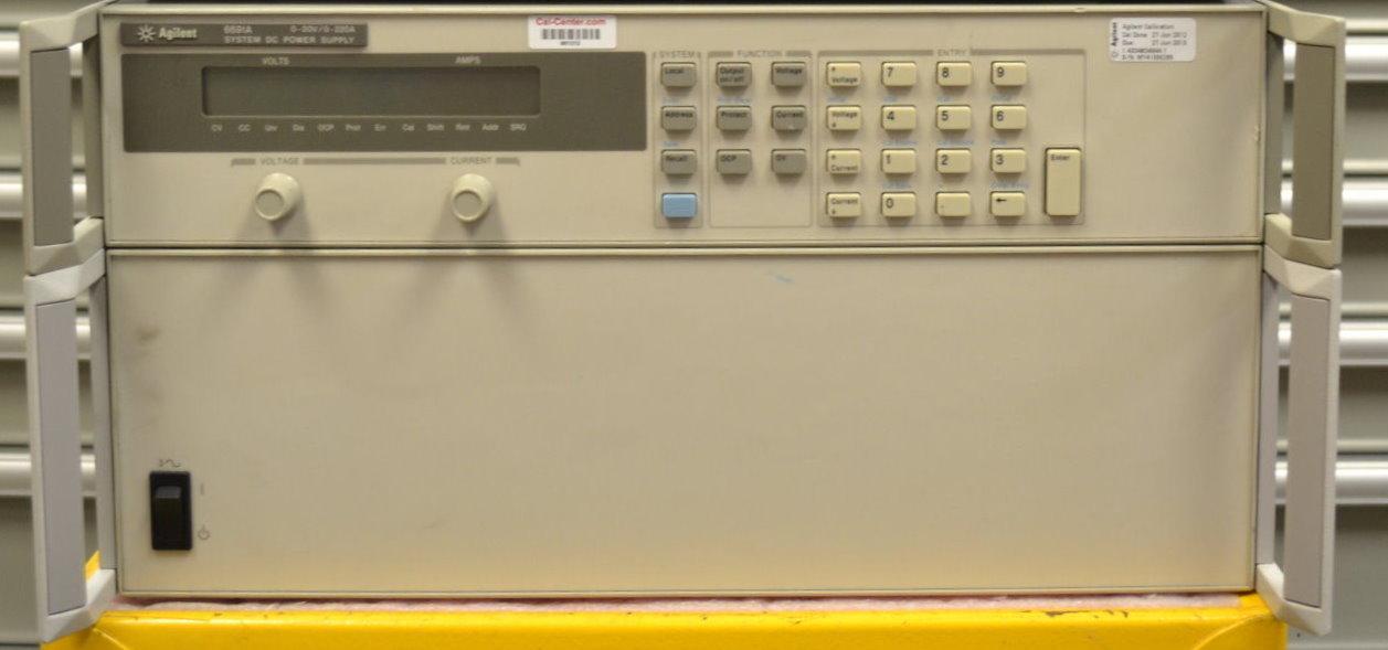 Keysight 6691A 6600-Watt System Power Supply, 30V, 220A