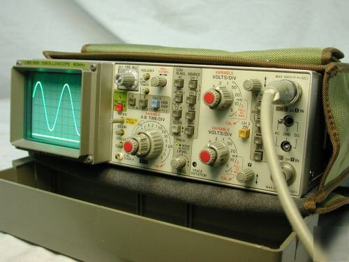 Leader Electronics Lbo-325 60Mhz Oscilloscope