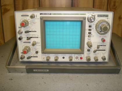 Leader Electronics Lbo-525L 50Mhz, 2 Ch Analog Oscilloscope