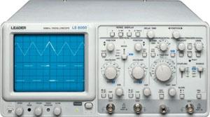 Leader Electronics Ls8050 Analog Oscilloscope
